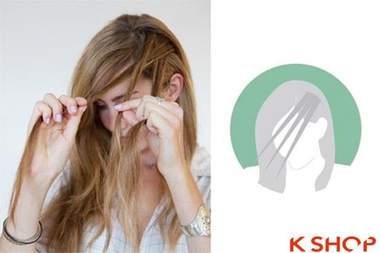 Cách tết tóc mái kiểu Hàn Quốc đẹp dịu dàng năng động