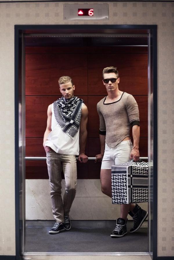 Chiến dịch thời trang nam xuân hè từ Allan Vos