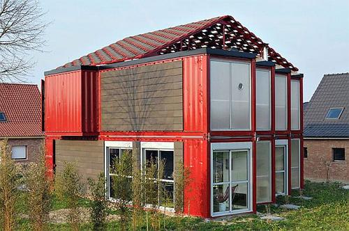 Có thể xây nhà 2 tầng bằng container không