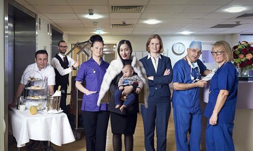 Dịch vụ sinh nở siêu đắt đỏ cho giới nhà giàu