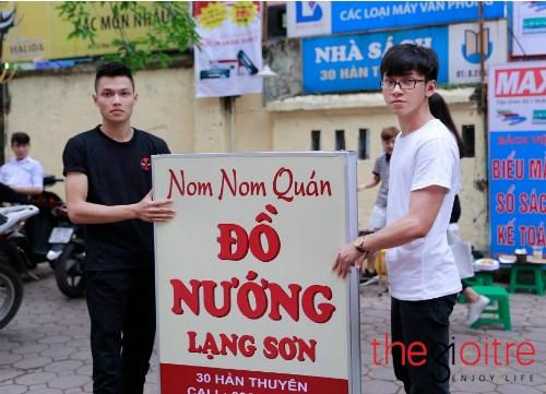 Ghé thăm quán bánh mỳ nướng toàn trai đẹp ở Hà Thành