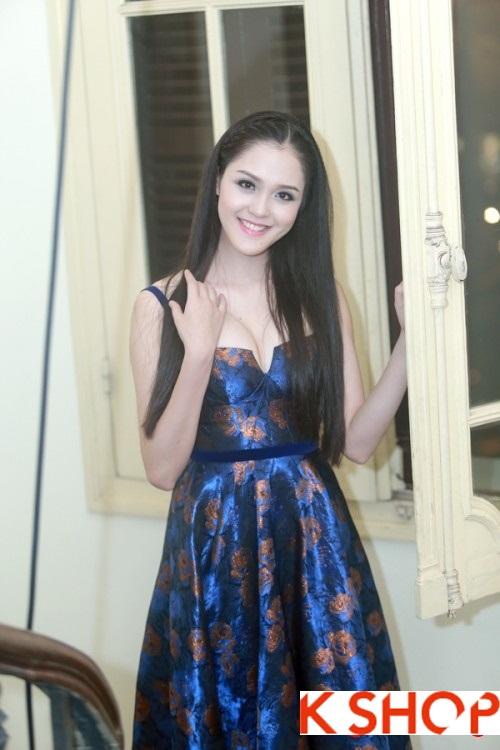 Kiểu tóc dài thẳng đẹp tự nhiên cho các bạn gái như sao Việt