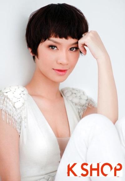 Kiểu tóc mái ngố Hàn Quốc tuyệt cho bạn gái sành điệu