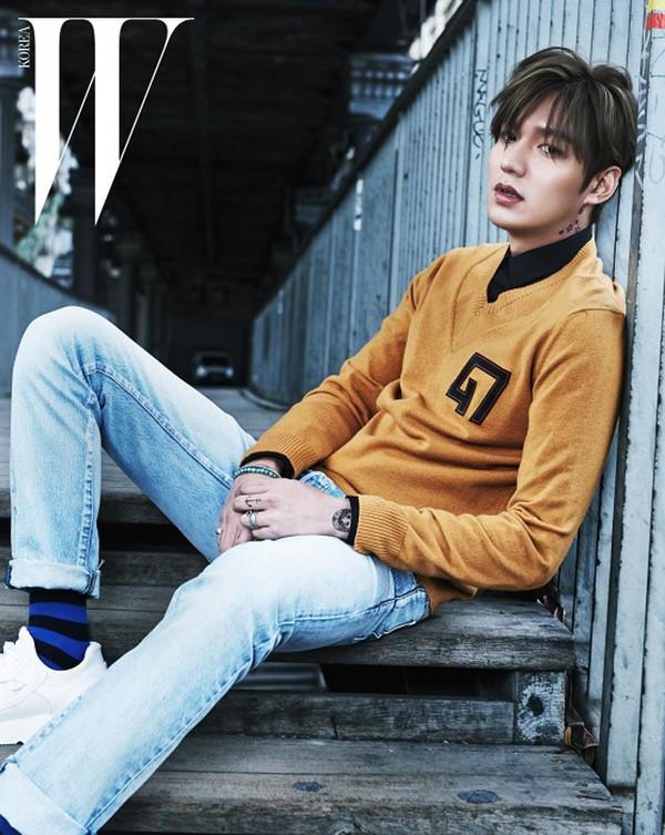Kiểu tóc nam Hàn Quốc trẻ trung khiến chàng mê tít