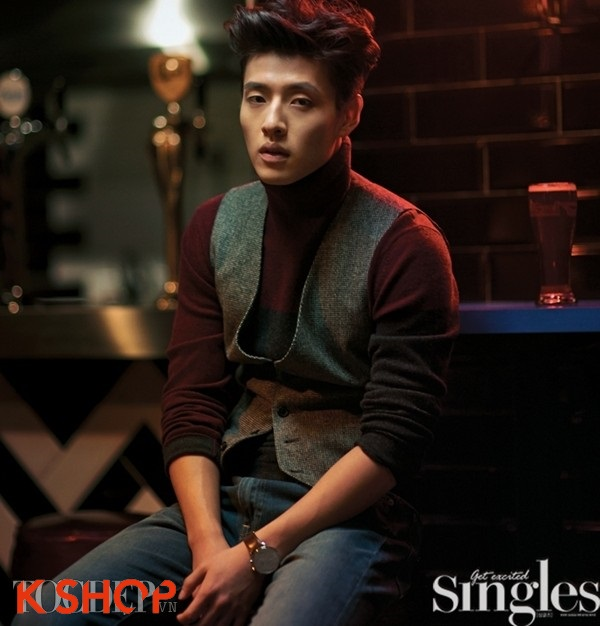 Kiểu tóc nam mái dựng đẹp của các sao kpop Hàn Quốc cá tính