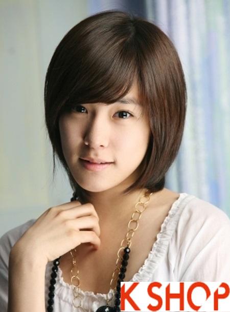 Kiểu tóc ngắn Hàn quốc cho cô nàng cuốn hút như sao Kpop
