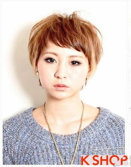 Kiểu tóc ngắn Hàn Quốc đang cực hot gây ấn tượng mạnh cá tính