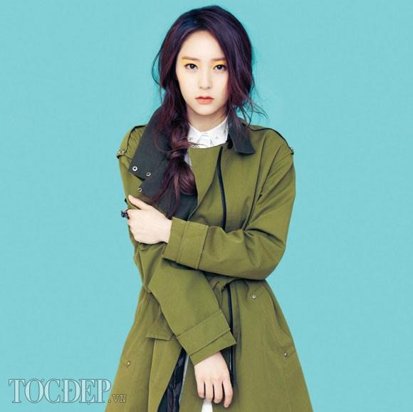 Kiểu tóc tết nữ của sao kpop Hàn Quốc cá tính