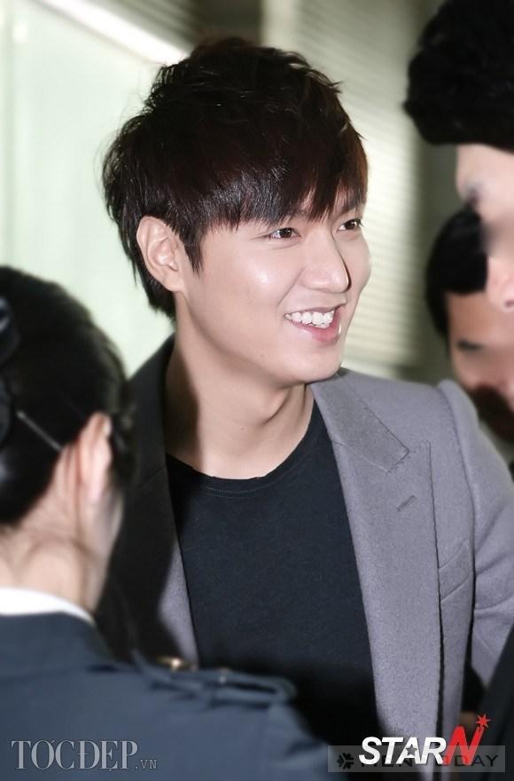 Lee Min Ho trẻ trung với tóc tỉa layer ngắn hút hồn chị em