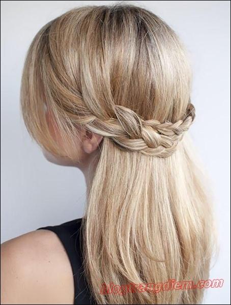 Những cách tết tóc đẹp đơn giản cho cô nàng thêm đáng yêu đầy dịu dàng