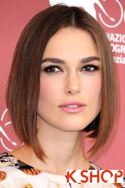 Những kiểu tóc cho cô nàng có khuôn mặt vuông quyến rũ