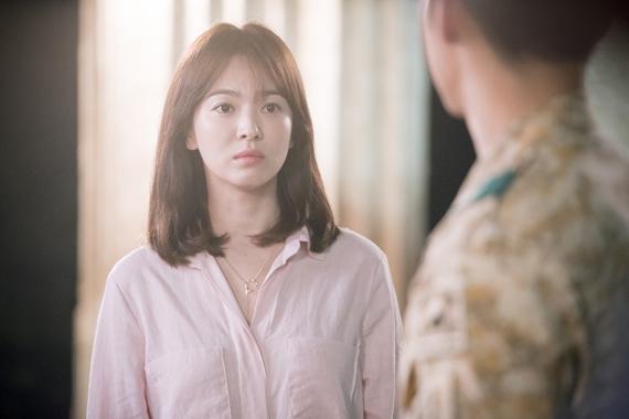 Những kiểu tóc đẹp của Song Hye Kyo trong Hậu duệ mặt trời cá tính