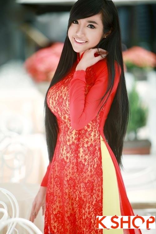 Những kiểu tóc phù hợp với bạn gái mặc áo dài duyên dáng cá tính