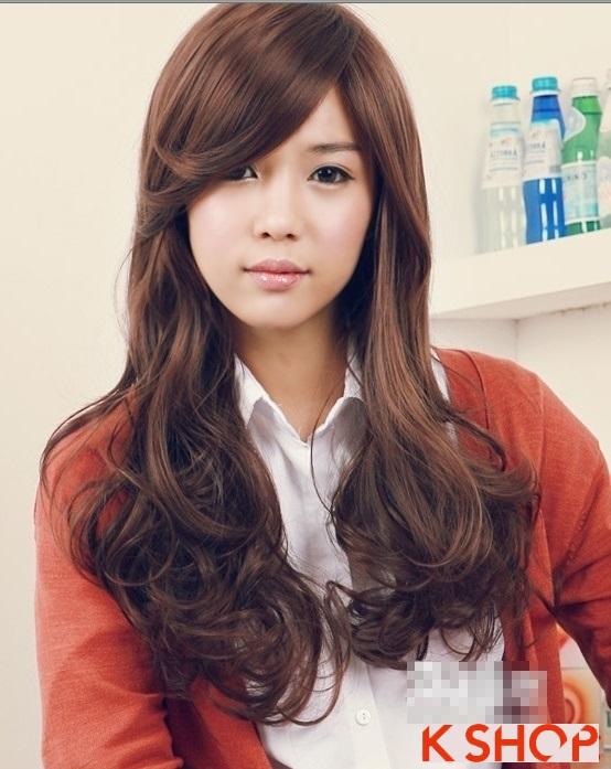 Những kiểu tóc uốn xoăn kiểu Hàn Quốc mang vẻ đẹp dễ thương