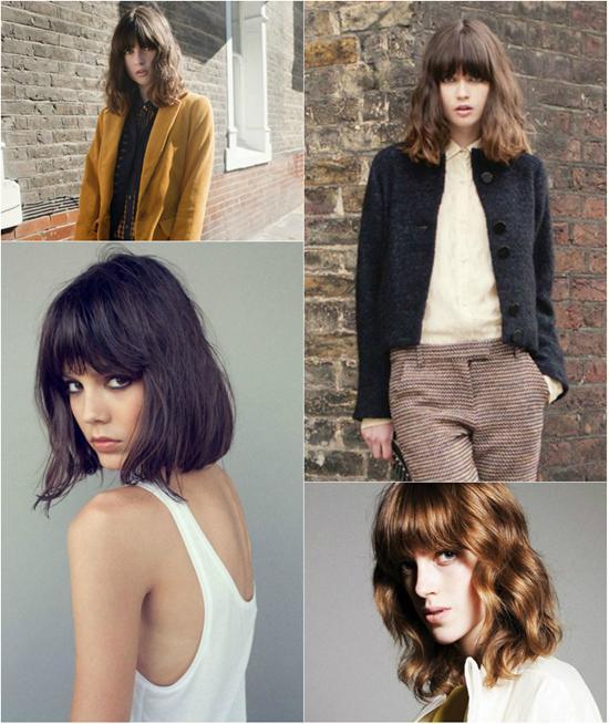 Những kiểu tóc xoăn đẹp cho bạn gái xinh xắn xuống phố độc đáo