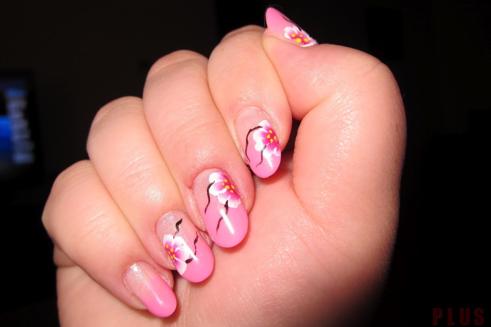 Những mẫu nail móng tay màu đỏ hồng tuyệt đẹp bắt mắt
