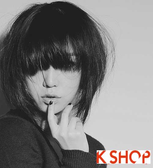 Tóc ngắn Hàn Quốc đầy cá tính cho bạn gái dạo phố