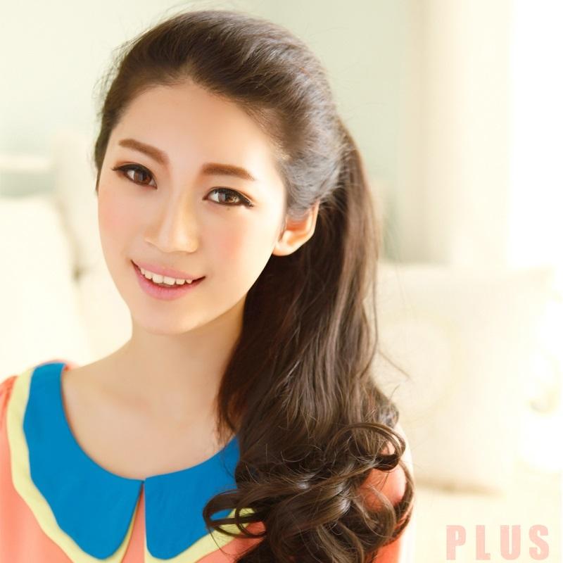 Tóc xoăn dài đuôi đẹp Hàn Quốc cho bạn gái cuốn hút tự tin