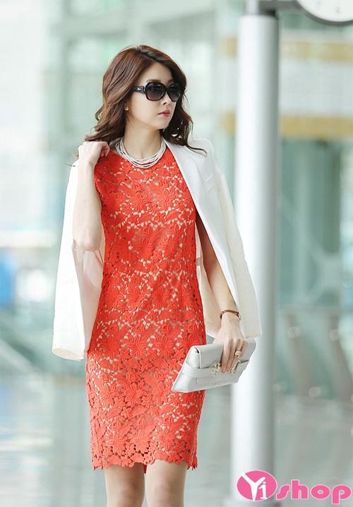 Váy đầm dáng suông đẹp hàn quốc cho nàng công sở thanh lịch