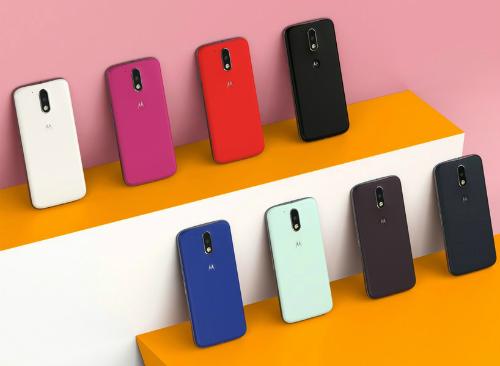 Moto G4 với nhiều màu sắc khác nhau