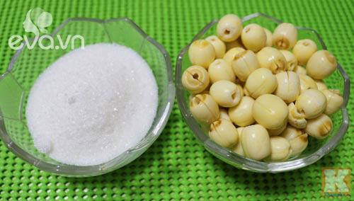 Sữa hạt sen thơm ngon, bổ dưỡng cho những ai thích mát