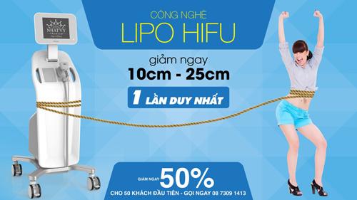 Cùng giảm mỡ toàn thân với công nghệ Lipo Hifu