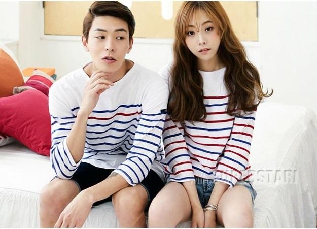 Áo len đôi đẹp kiểu Hàn Quốc cho mùa đông thêm lãng mạn