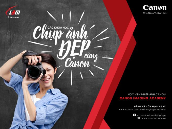 Học viện nhiếp ảnh do Canon tổ chức
