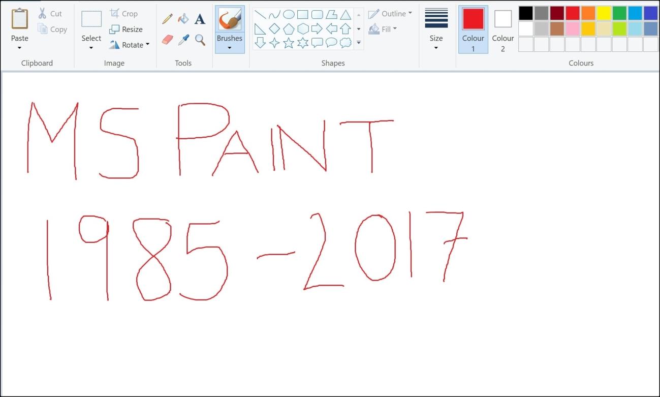 Huyền thoại Paint bị Microsoft 'khai tử' sau 32 năm