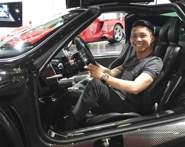 Minh 'Nhựa' tốn tiền tỷ sửa chữa siêu xe Pagani Huayra