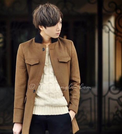 Tổng hợp áo khoác nam măng tô dạ chàng lịch lãm nơi công sở