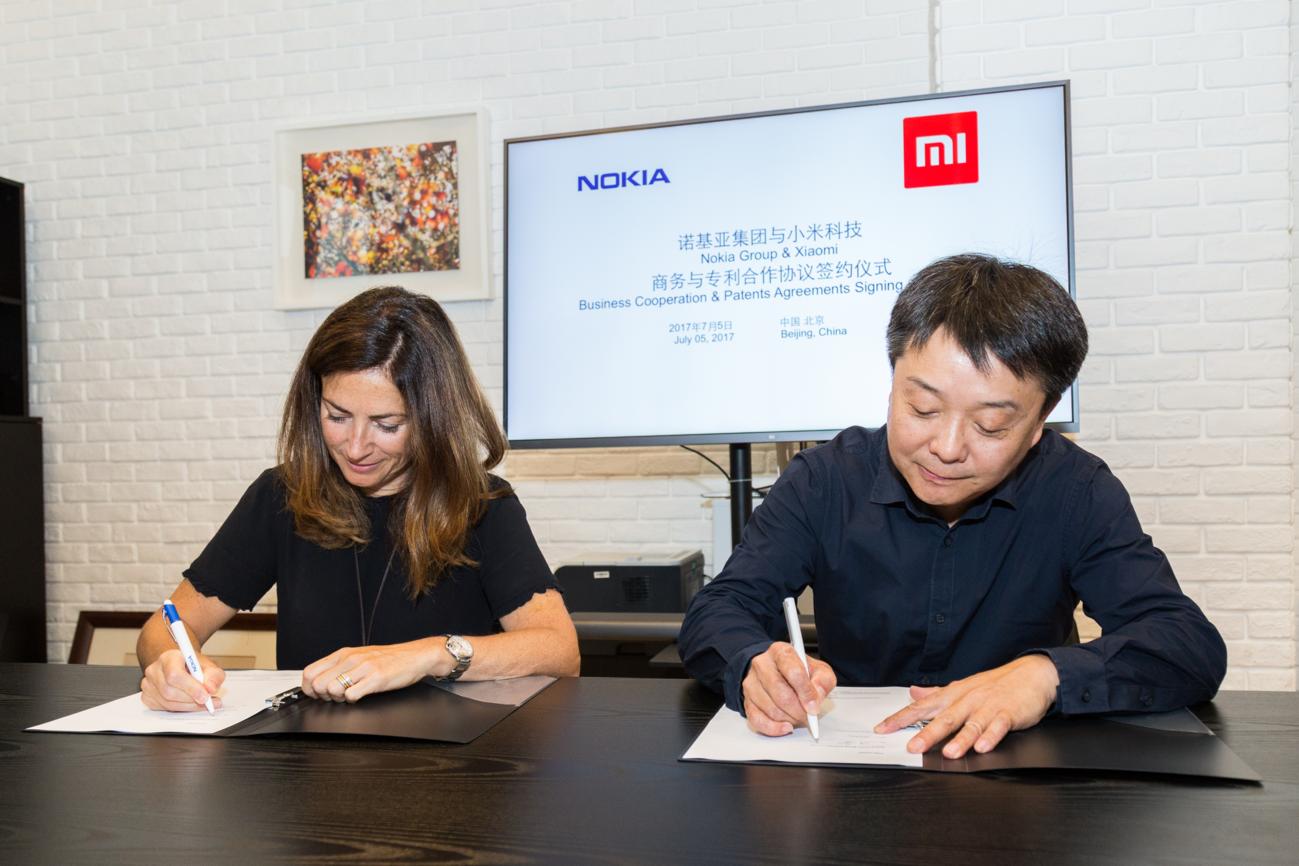 Xiaomi và Nokia ký thỏa thuận cấp phép chéo để hỗ trợ nhau