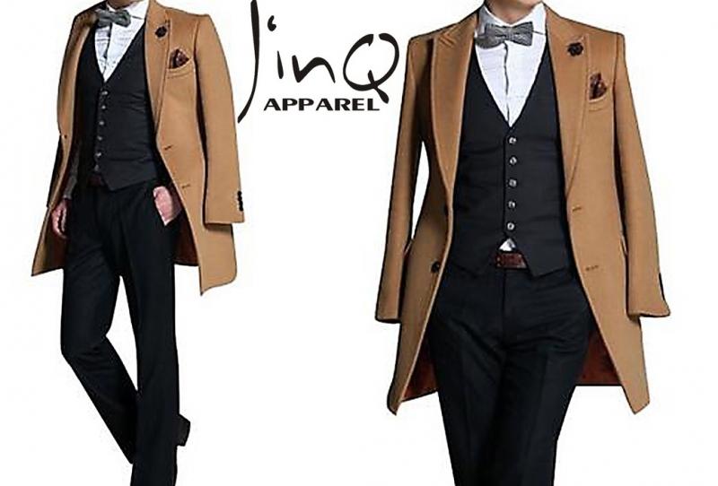 Áo khoác nam măng tô đẹp đông cho chàng công sở