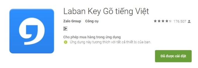 Nhanh chân 'ủng hộ' tiếng Việt 4.0, Laban Key bị đánh giá 1* thê thảm