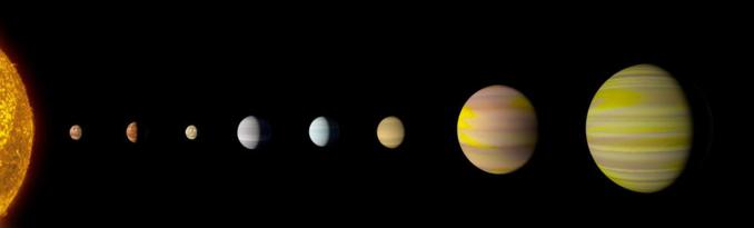 NASA tìm ra một hệ hành tinh mới giống hệ mặt trời nhờ... Google