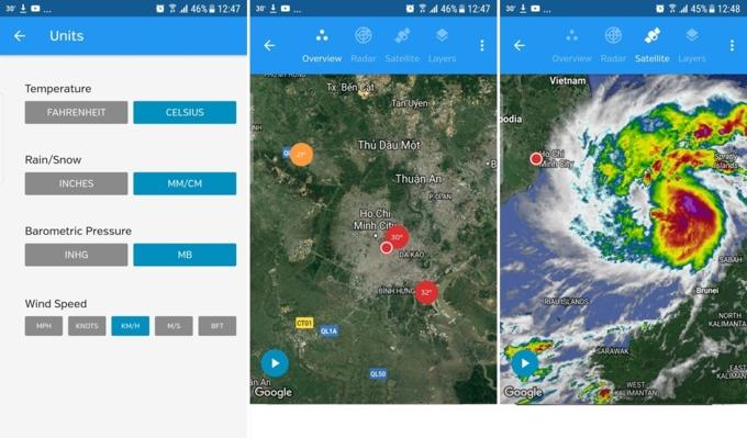 Những ứng dụng giúp bạn tránh được bão Tembin để vui chơi trong dịp lễ