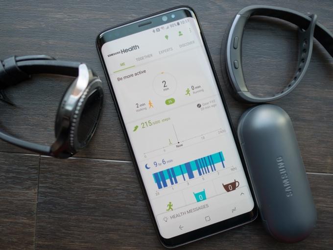Dùng ứng dụng fitness để sống khỏe mạnh hơn