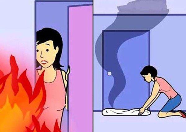 Kĩ năng sinh tồn cần biết khi gặp hỏa hoạn bạn nên học