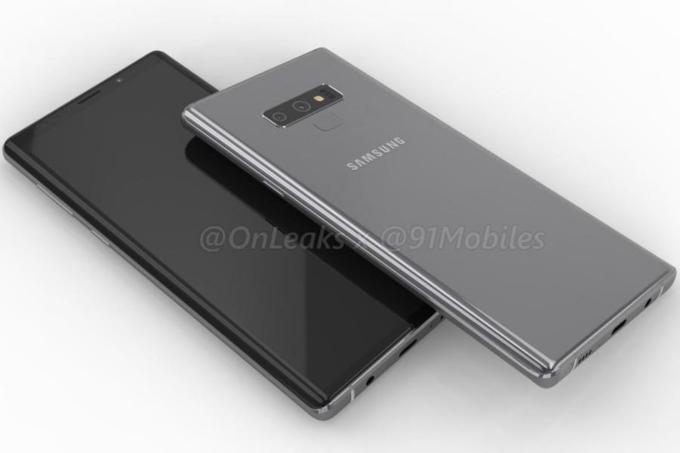 Bí mật về pin và camera của Galaxy Note 9