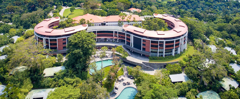 Chiêm ngưỡng khách sạn 5 sao Capella, Singapore