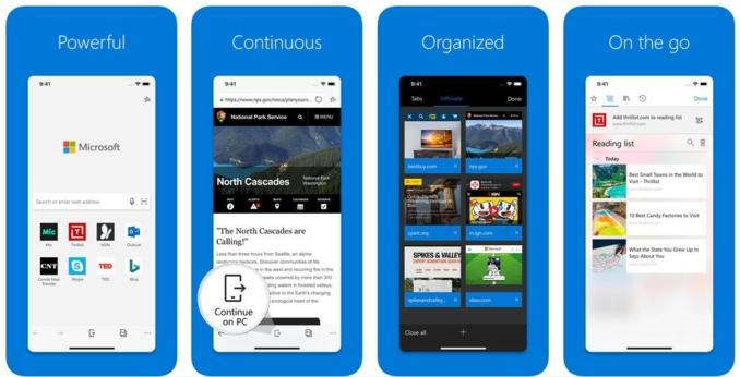 Hãy dùng Microsoft Edge khi đã chán quảng cáo khi lướt web trên di động