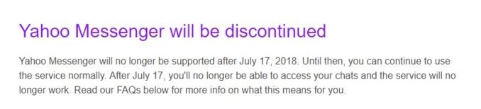 Làm thế nào để tải những kỷ niệm cũ về máy khi Yahoo Messenger đóng cửa?