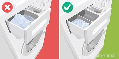 Sai lầm khi dùng máy giặt, quần áo sẽ không sạch mà máy lại nhanh hỏng