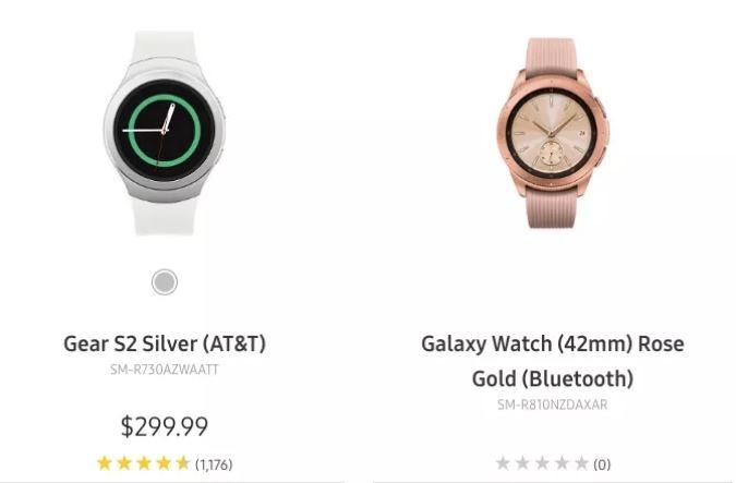 Galaxy Watch lộ giá trước ngày phát hành