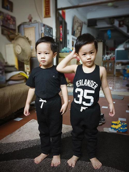 MC Hoàng Linh vô cùng hạnh phúc cùng 2 con trai