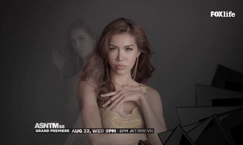 Người đẹp Minh Tú bất ngờ trở lại Asia's Next Top Model gây chú ý