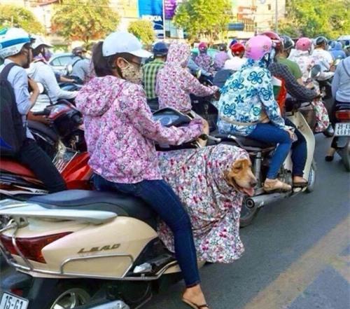 Những nguy hiểm từ việc mặc váy, áo chống nắng lúc chạy xe