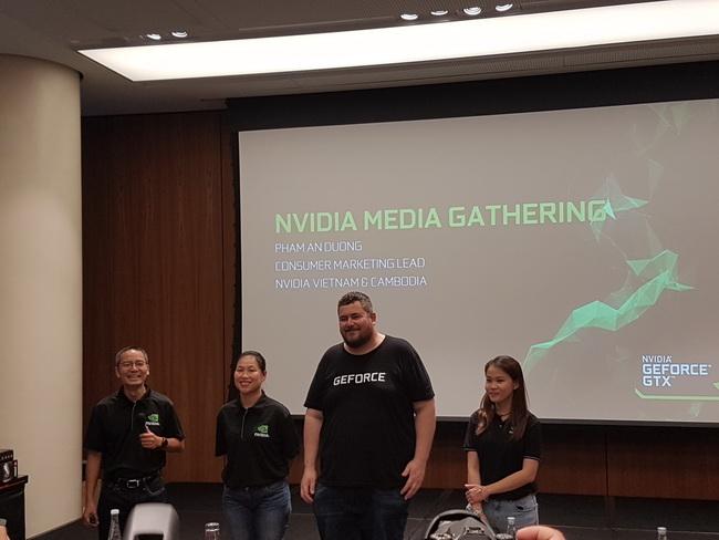 NVIDIA, dòng card đồ họa mới của hãng sẽ được thông báo tại Việt Nam