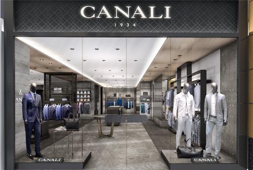 Canali khai trương cửa hàng thời trang nam
