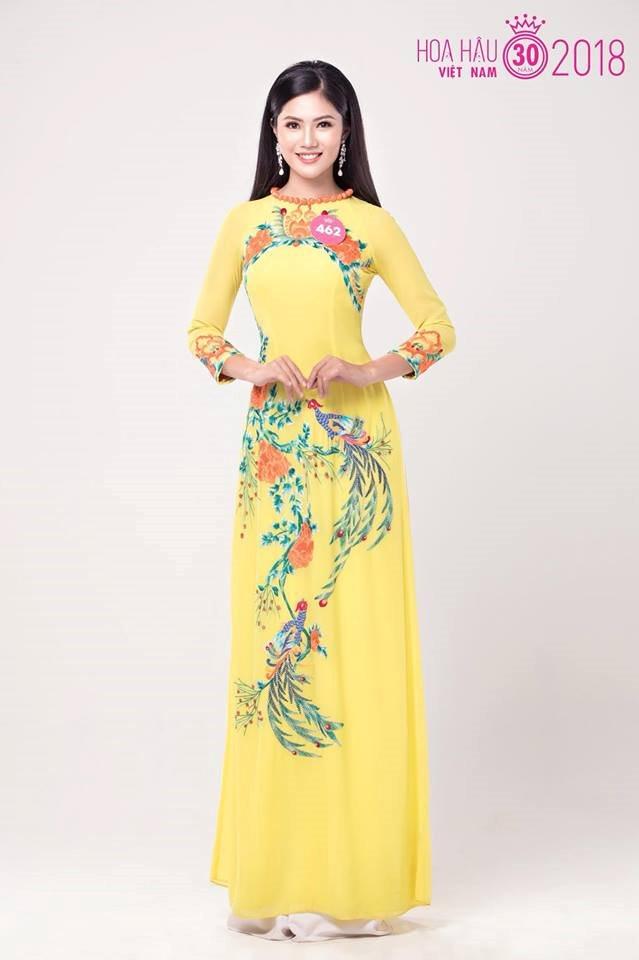 Cô nàng đất Cảng Vũ Hương Gian rạng ngời tại Hoa hậu Việt Nam 2018